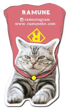 ペット名刺 型抜き名刺 猫デザイン 縦型015 オーダーメイド 猫グッズ (1個30枚入)【楽天市場】