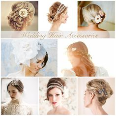 {Bridal Style} Wedding Hair Accessories