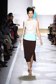 I think this a nice palette. Neutral with a bit of fun! Color blocking is flattering too.