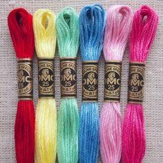DMC Embroidery Thread Pack - Flower Garden