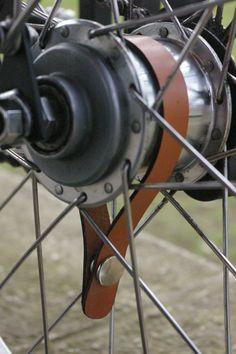 Leather Bicycle Hub Shine Set for Bikes with door JimBarrettLeather, £16.99