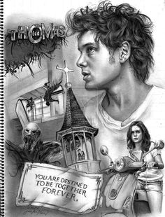 Odd Thomas by JAF-Artwork This whole series is beautiful and heartbreaking. Odd Thomas is one of my favorite characters