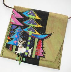 Art Quilt Purse - Holiday Celebrations