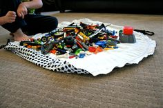 make it perfect: .Lego Sack Tutorial.