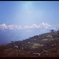 Can you see the Himalaya?