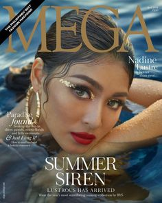 With a glint of gold draping over her sun-kissed skin and a vibrant twinkle in her eye, Nadine Lustre ( takes on the role as our… Nadine Lustre Ootd, 18th Debut Ideas, Lady Luster, Photoshoot Concept, Filipina Actress, Creative Shot, Vegas Style, Paradise Found, Jadine