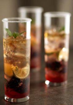 Black berry mojito, cocktail