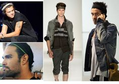 The men's headband and how to wear one.
