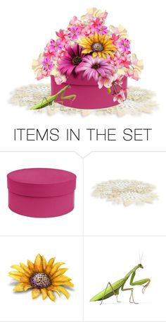 """""""Season's Last  Sunflower"""" by sjlew ❤ liked on Polyvore featuring art"""