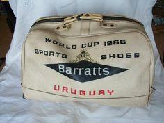 1966 World Cup Uruguay team bag Football Odds, 1966 World Cup, Leeds United, Sports Shoes, Ephemera, Soccer, England, Game, Vintage