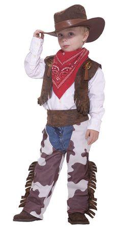 Chco Cowboy Kid Toddler ***721773643538*** ¢22.500