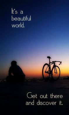 Get out there! #cycling