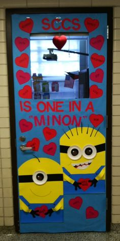27 Creative Classroom Door Decorations for Valentine's Day . school valentines day ideas day decorations for classroom schools 27 Creative Classroom Door Decorations for Valentine's Day . Minion Classroom Door, Halloween Classroom Door, Classroom Teacher, Valentines Day Decor Classroom, Classroom Ideas, School Door Decorations, Diy Classroom Decorations, Holiday Decorations, Zombie Halloween