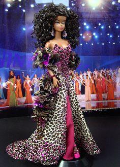 OOAK Barbie NiniMomo's Miss Rwanda 2011