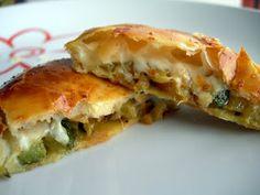 Cocinando entre Olivos: Discos de calabacín y queso. Paso a paso