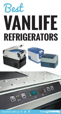 Best Portable Refrigerator for Camping & RVs Awesome overview of all the best refrigerator for vanlife, camper vans, road trips and RV builds! There's a great chart in this article outlining the pros and cons of each portable refrigerator. Vw Bus, Bus Camper, Build A Camper Van, Camper Life, Camper Trailers, Kangoo Camper, Sprinter Camper, Minivan, Motorhome