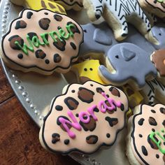 """""""Leopard print cookie. My latest obsession.  #SugarCoatedDesserts"""""""