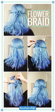 Flower Braid | 26 Incredible Hairstyles You Can Learn In 10 Steps Or Less