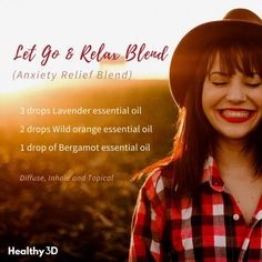 Diffuse this blend when you're feeling anxious or stressed. Take deep breaths. Remind yourself that you are strong and you will not let anxiety stop you. Click the image to read more.   #stress #anxiety #anxietyrelief #essentialoils #essentialoilrecipes #essentialoiblends #healthy3d #naturalremedy #diffuserblends #homeremedies #rollerblends #ecoliving @healthy3d