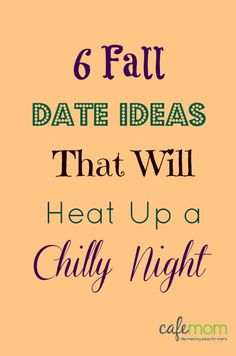 6 Fall Date Ideas That Will Heat Up a Chilly Night! Can't wait to start this on our weekly date night Marriage Relationship, Love And Marriage, Relationships, Cute Date Ideas, Fall Dates, Couple Activities, Couple Romance, Love Dating, Anniversary Dates