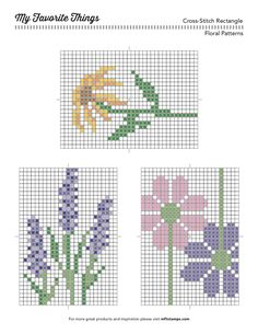MFT Printable Resources | Cross-Stitch Printables – My Favorite Things