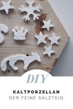 DIY // Feiner Kaltporzellan aus drei Zutaten einfach selbst machen