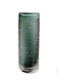 1stdibs.com | Pair of Glass 'Spun' Vases by Bengt Edenfalk for Skruf Sweden