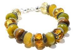 Earthtones Agate Bracelet by BrankletsNBling on Etsy, $32.00 #homefrontteam