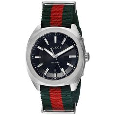 Gucci GG2570 41mm - YA142305 (Green Red Black) Watches ( 870) 9f0fa19d48a