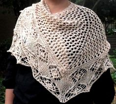 Jaali Knitted Shawl Variations