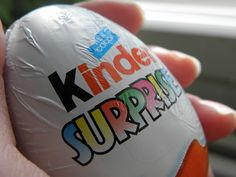 Kinder Egg- had this as a kid in Germany...AMAZING!