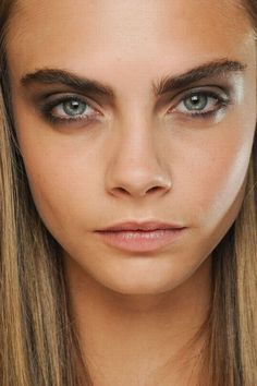 Fresh faced and big browed! SS 13 make-up trends!