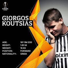 Giorgos #Koutsias makes history as the youngest #PAOK player to debut in European competitions #PAOKStory #NextGeneration #UEL #RiseUp #TheFutureIsHere @europaleague