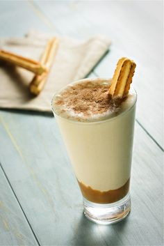 churro milkshakes with dulce de leche rezept foodie fantasies pinterest. Black Bedroom Furniture Sets. Home Design Ideas