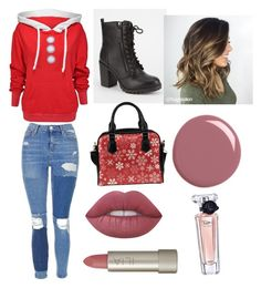 """""""Untitled #20"""" by icemaoffical on Polyvore featuring Wildfox, Topshop, Soda, Lime Crime, Ilia, Gucci and Lancôme"""