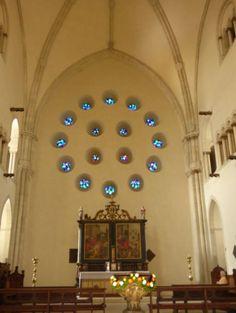 Blaue Fenster im Dom zu Münster, Foto: S. Hopp