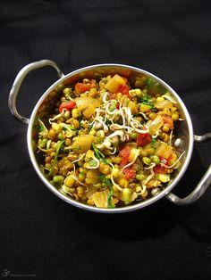 Teply salat z mungo fazuliek