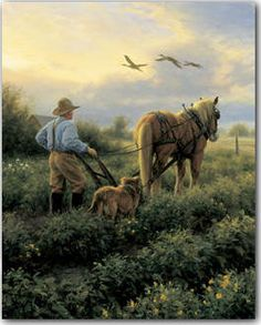 Robert Duncan The Cranes Flew By Native American Art, Western Art, and Wildlife Art. Fine art prints and posters framed, custom framing Arte Country, Country Life, Cow Art, Horse Art, Robert Duncan Art, Farm Art, Country Scenes, Poster Prints, Art Prints