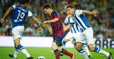 Barcelona vs Real Sociedad en vivo | Futbol en vivo - Barcelona vs Real Sociedad en vivo. Transmision en vivo y en directo canales enlaces para ver online a que hora juegan fecha y datos del partido.