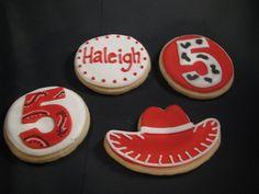 Jessie cookies  toy story
