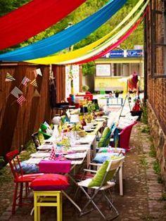 fiesta table setting