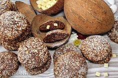 Di gotuje: Ciastka czekoladowo-kokosowe z białą czekoladą