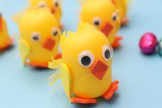 kinder egg chicks