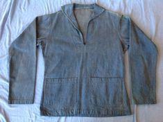 Usn Denim Pullover Jacket  WWI  Pre WWII  by GentlemanMountain #denim #USN #vintage