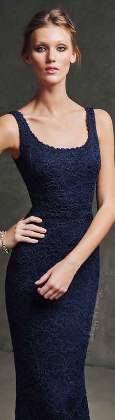 Pronovias 2016 Prom Party Dresses, Formal Dresses, Cocktail Outfit, Privacy Settings, Blue Gown, Daily Style, Couture, Long Black, Beautiful Gowns