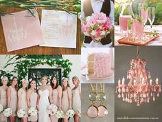 Blush pink wedding. What your wedding could look like!