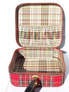 vintage plaid case