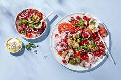 Hest Agentur – Veslemøy Vråskar Healthy Vegetables, Pasta Salad, Make It Yourself, Ethnic Recipes, Food, Crab Pasta Salad, Essen, Meals, Yemek