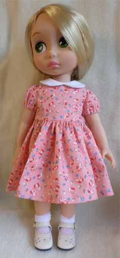 Disney Animator Doll Clothes  Pretty vintage style by MellyMakes1
