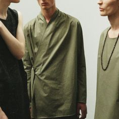 Damir Doma Men's SS16 Collection Available Online: (from left to right) Tyra Sleeveless Top With Lacings, Jahi Wrap Jacket And Tundra Top With Lacings. Visit Our Online Store: shop.damirdoma.com  https://www.instagram.com/p/BClEdVbJ-3K/?taken-by=damirdomaofficial